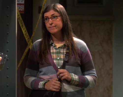 Amys striped cardigan