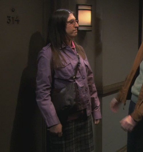 Amys purple jacket