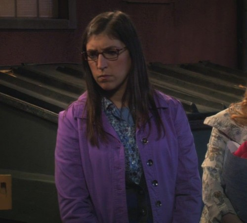 Amys purple jacket