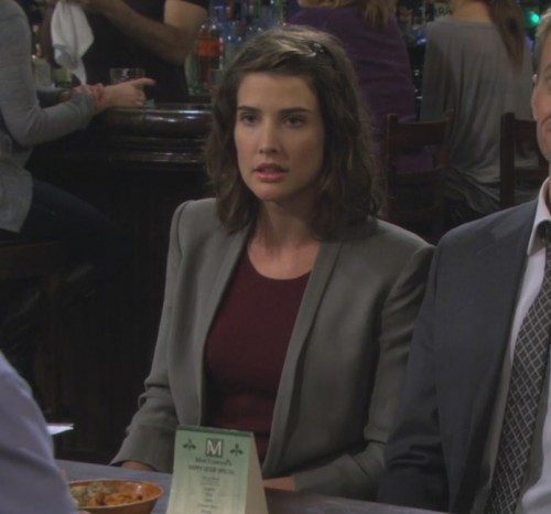 Robin's grey blazer on How I met your mother
