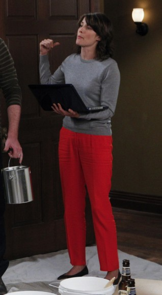 Robins red pants