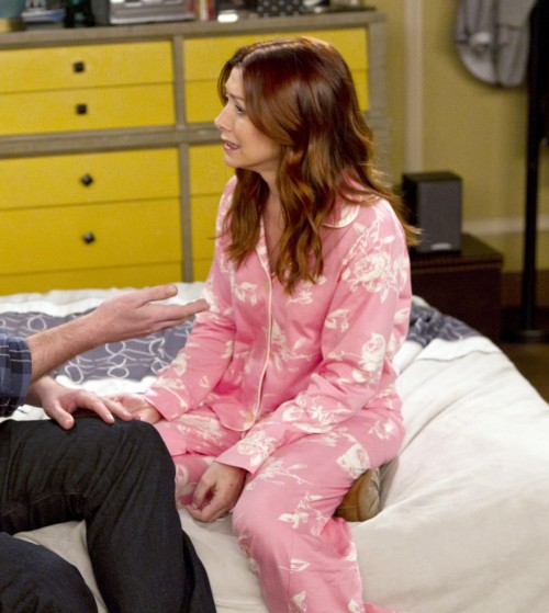 Lily's pink pajamas on How I met your mother