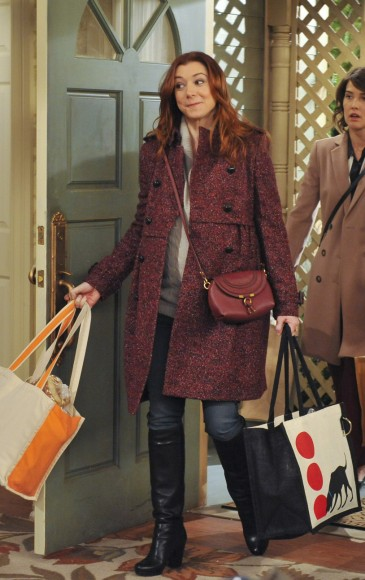 How I Met Your Mother The Rebound Girl Fashion Season 7 Episode 11  Wornontv-5411