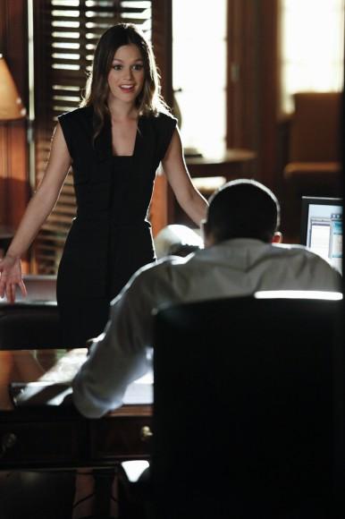 Zoe's black dress