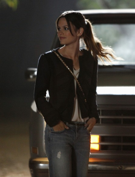 Zoe's black blazer and jeans on Hart of Dixie