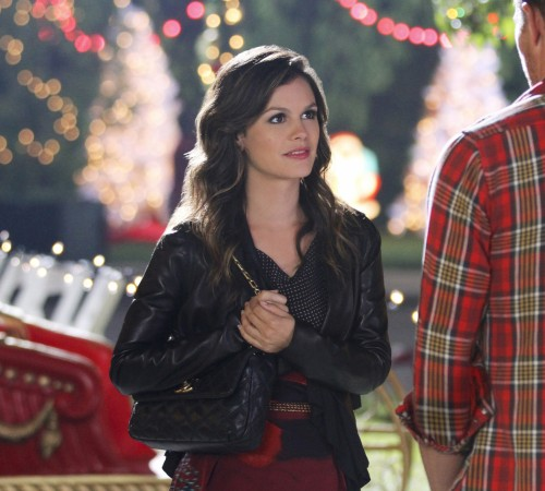 Zoe's black quilted handbag from Hart of Dixie