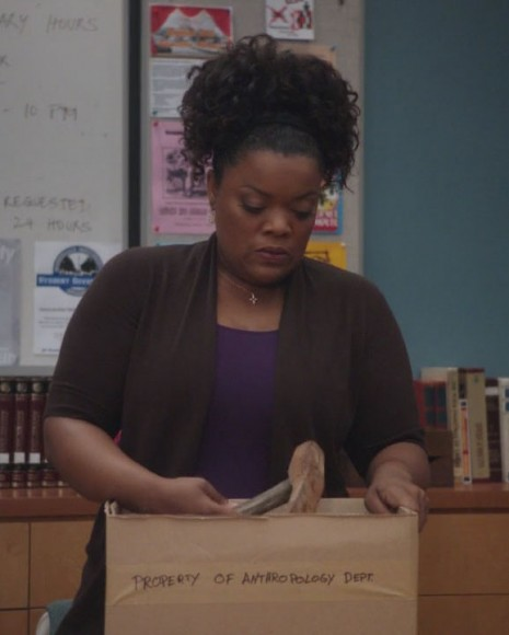 Shirley's brown cardigan from Community