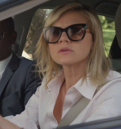 Jane's sunglasses on Happy Endings