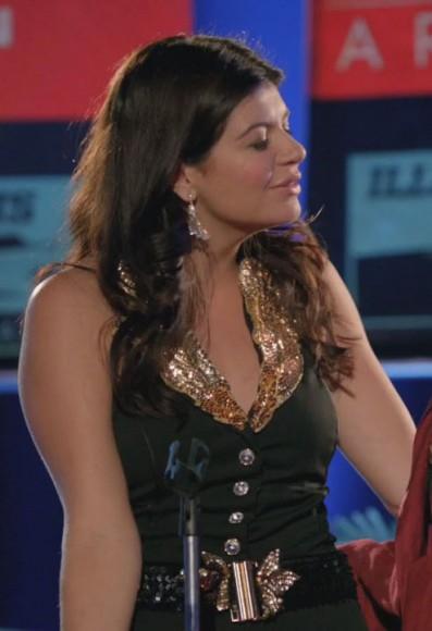 Pennys glitter collar vest