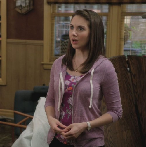 Annie's purple hoodie from Community