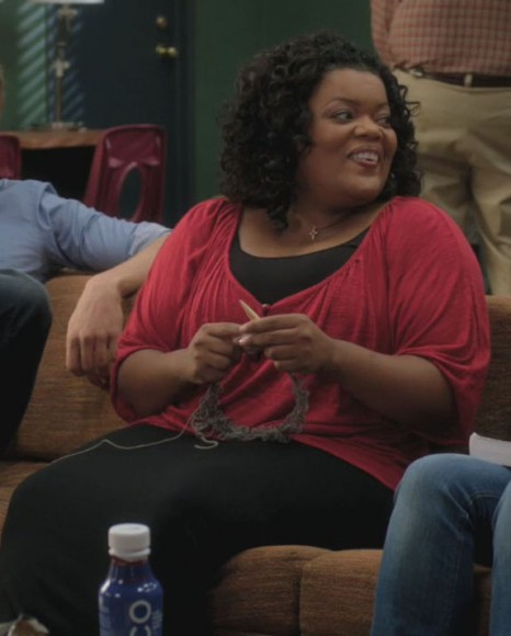 Shirley's red plus size top