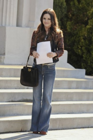 Zoes black handbag on Hart of Dixie