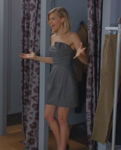 Janes grey tube dress