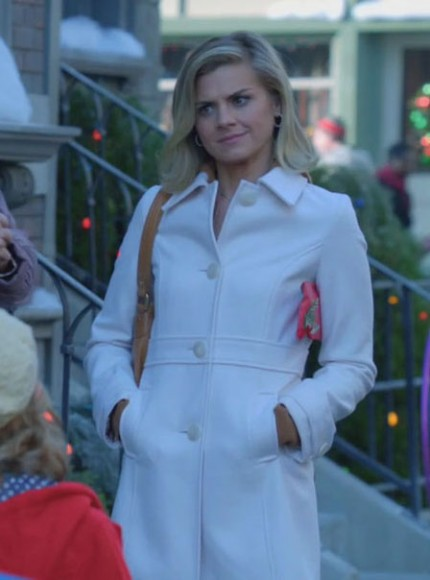 Janes white coat