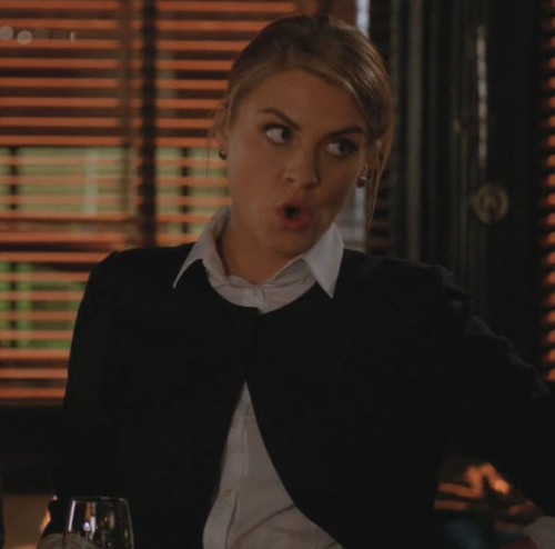 Jane's black jacket on Happy Endings
