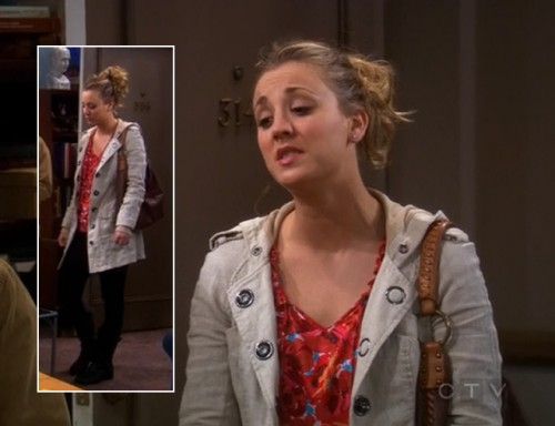 Penny's brown and tan handbag on BBT