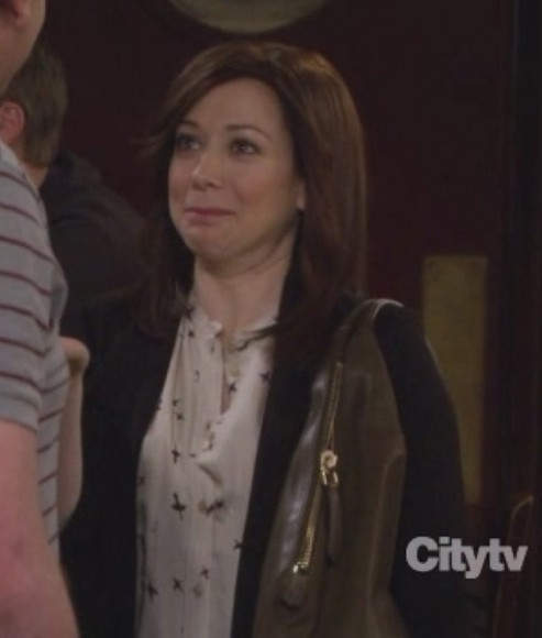 Lilys green bag on HIMYM