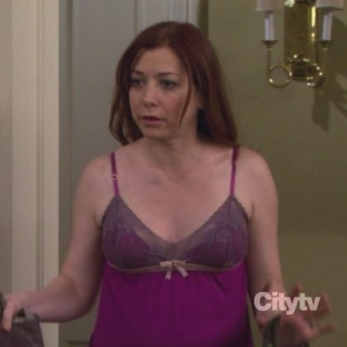 Lily's pink nightie from HIMYM