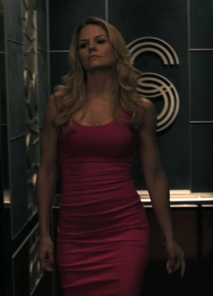 Emma's pink tight dress on Once Upon A Time