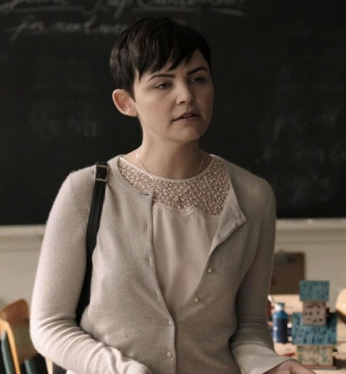 Marys white sheer top on Once Upon A Time