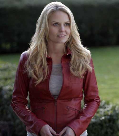 Emma's red leather jacket from Once Upon A Time