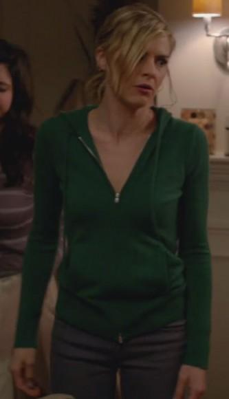 Janes green hoodie