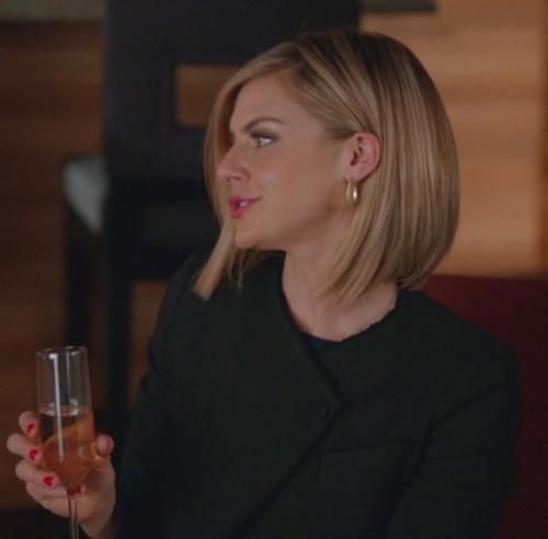 Jane's black jacket on Happy Endings