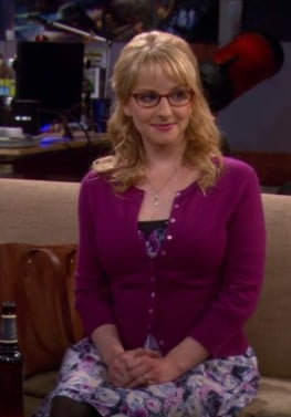 Bernadettes purple floral dress on BBT