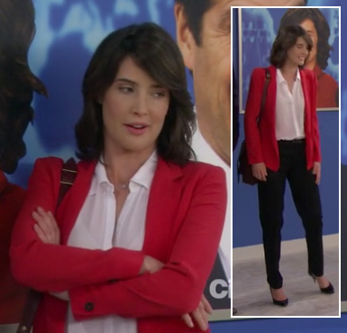 Robin's red blazer on How I Met Your Mother