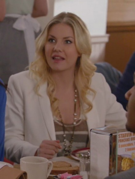 Alex's white blazer on Happy Endings