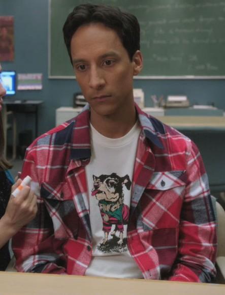 Abeds dog tshirt on Community