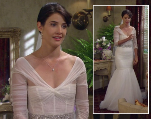 Robin's wedding dress on How I Met Your Mother