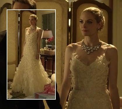 Lemon's wedding dress on Hart of Dixie
