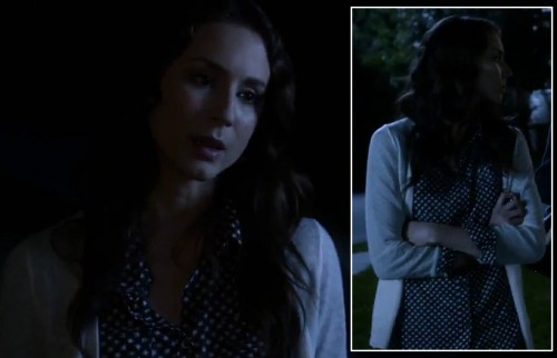 Spencer's star print blouse on PLL