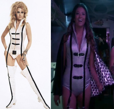 Emily's Barbarella Halloween Costume on Pretty Little Liars