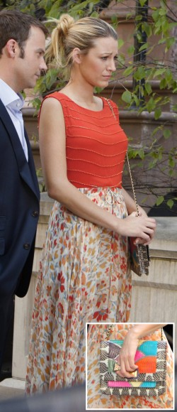 Serena van der Woodsens maxi skirt on Gossip Girl