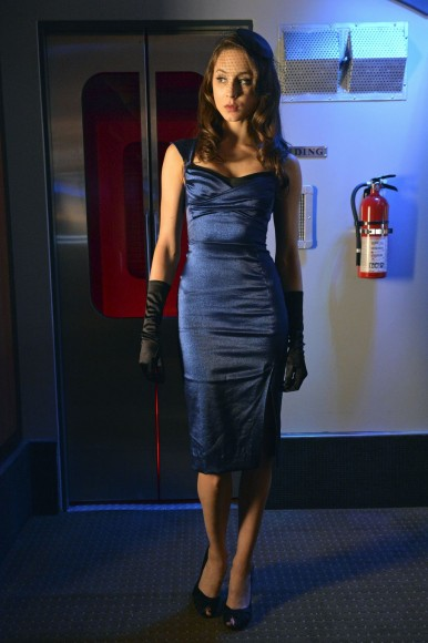 Spencer's blue halloween dress on PLL