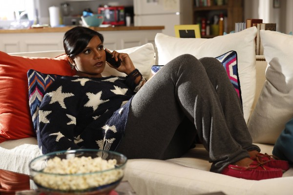 Mindy Kaling's star sweater on The Mindy Project