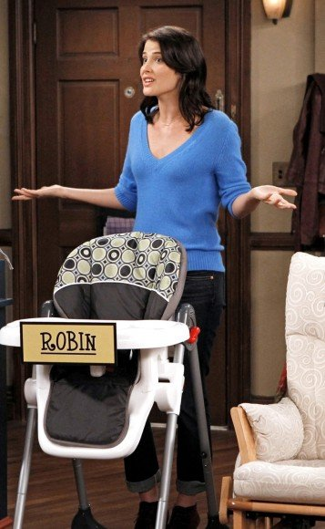 Robin's blue sweater on HIMYM Season 8