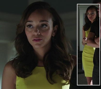 Ashley's yellow dress on Revenge