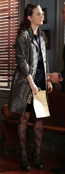 Blair's coat on the Gossip Girl Finale