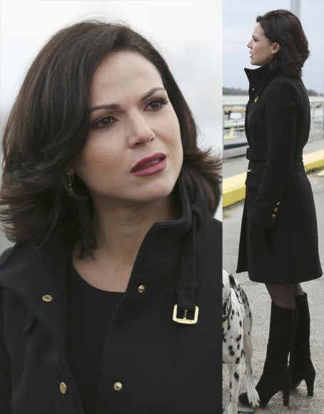 Regina's black boots on Once Upon a Time