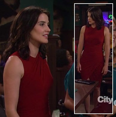 Robin's red dress on How I Met Your Mother