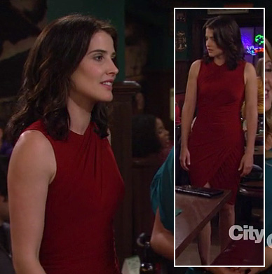 Robin's red dress on HIMYM season 8
