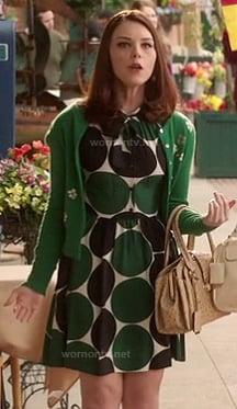 AnnaBeth's green polka dot dress on Hart of Dixie