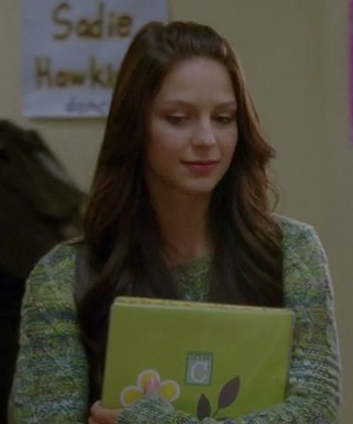 Marley's green sweater on Glee