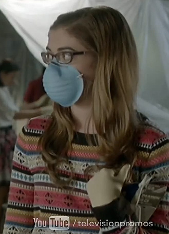 Rose's striped fair isle sweater on Hart of Dixie