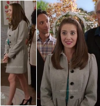 Annie's grey coat on Community