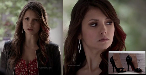 Elena/Katherine's black shoes on TVD