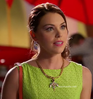AnnaBeth's lime green dress on Hart of Dixie